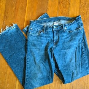 Lucky mid-rise flare jeans
